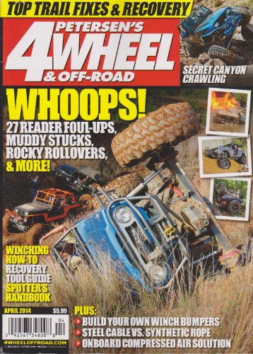 petersen s 4wheel off road magazine april 2014 atv warehouse. Black Bedroom Furniture Sets. Home Design Ideas